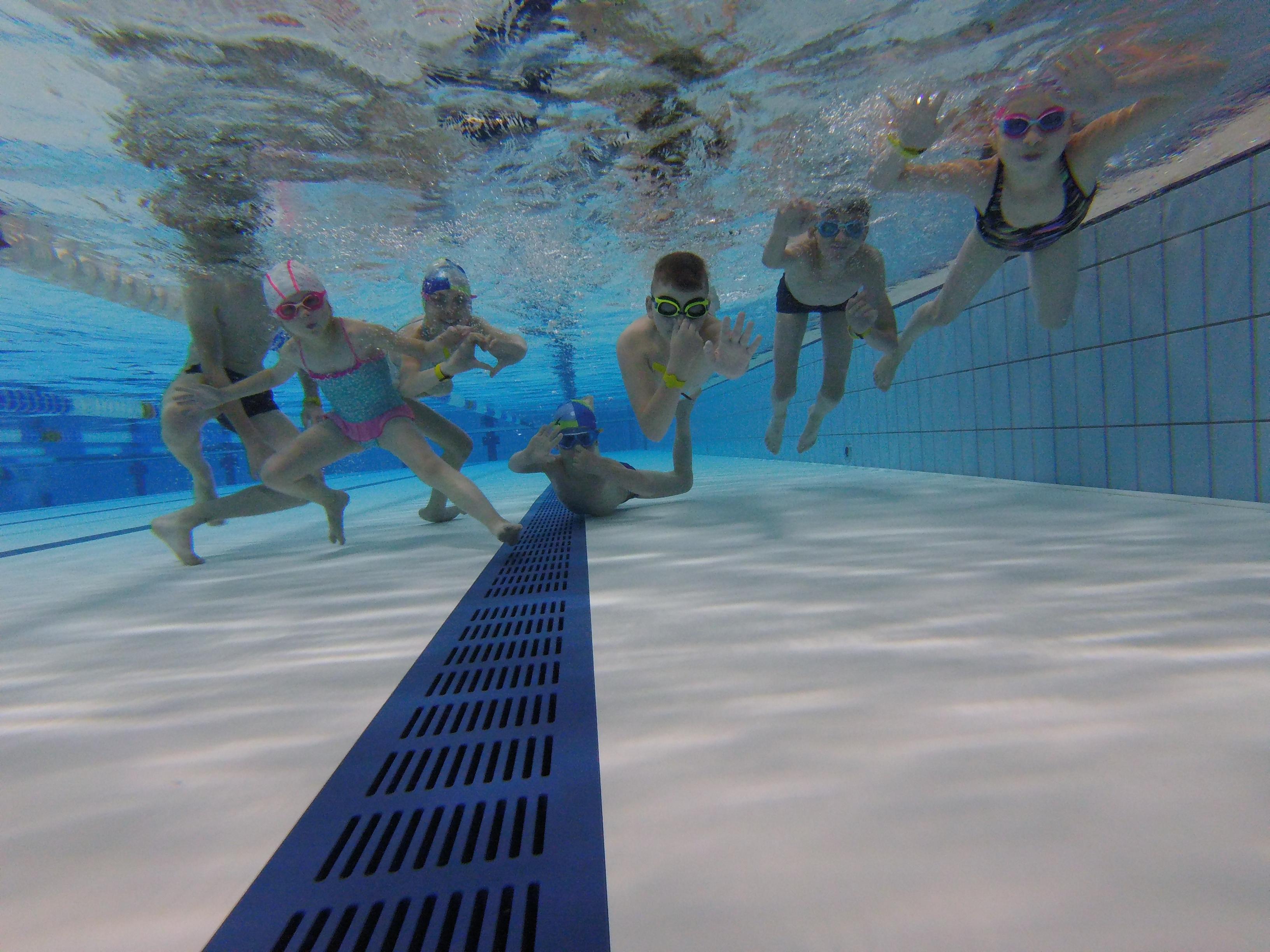 nauka pływania dla dzieci 1